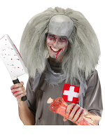 Zombie Man Headpiece - Grey