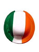Irish Tri-Colour Plastic Bowler Hat