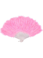 Feathered Fan - Pastel Pink