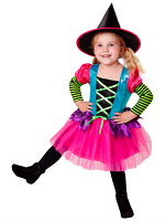 Witch Pink Costume