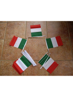 6m 20 Flag Italy Bunting