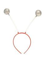 Silver Glitter balls Wiggley Headboppers  (1)