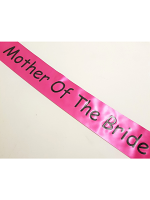 Mother of the Bride Sash