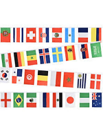 World Cup 2018 Country Bunting