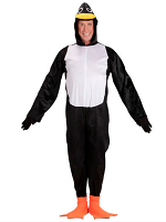 Penguin (Hooded jumpsuit with mask)