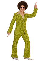 GROOVY 70'S MAN SUIT - WALLPAPER