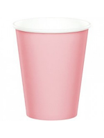 Pastel Pink Paper Cup 9""