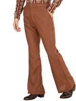 GROOVY 70'S MAN PANTS - BROWN