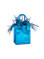 Balloon Weight Mini Handbag Blue