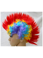 Mohican Wig - Multi-Coloured