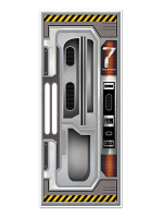 Spaceship Door Cover