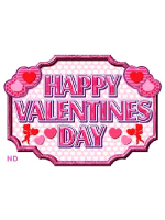 Valentines Large Decoration Pack