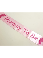 Mummy To Be Sash - Pink