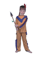 Child's Apache Indian Boy Costume
