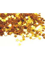 Mini Gold Star Confetti 14gm