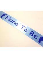 Nana To Be Sash - Blue
