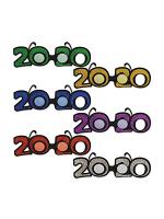 2020 Glittered Plastic Eyeglasses