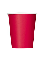 Ruby  Red 9oz Paper Cup (8 cups)