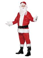 Velour Santa Costume