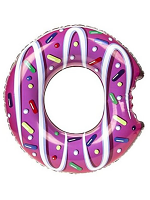 "Large Inflatable Doughnut Swim Ring - 48""/122cm"