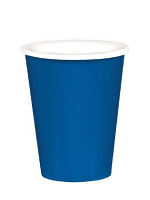 "Royal Blue 9"" Paper Cups"