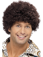 70'S Disco Dude Wig,Brown