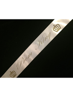 Prom King Satin Sash (1)