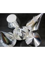 Silver Foilboard Hats - 20