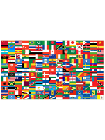 Flags of the World Flag 5ft x 3ft