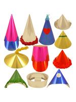 Foilboard Carnival Hats - Small 144