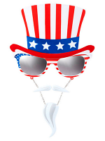 Uncle Sam Glasses