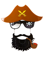 Pirate Captain Glasses