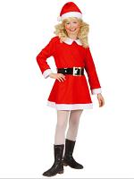 Flannel Santa Girl (Dress Belt Hat) Childrens