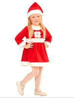 Santa Girl (Dress Hat) Childrens