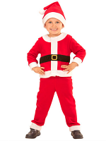Santa Boy (Jacket Pants Hat) Childrens