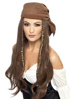 Pirate Wig,Brown