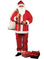 Budget Santa Claus Costume