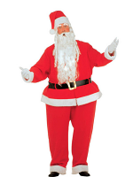 Fat Santa Claus Costume