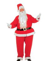 Fat Santa Claus Costume