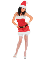 Miss Santa Flannel Costume