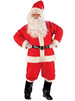 Santa Suit Deluxe Costume