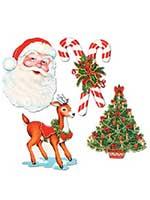 "Christmas Cutouts 16""-17"""