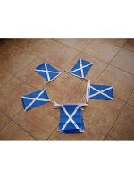 6m 20 flag St Andrews (Scotland/Saltire) Cross Bunting