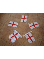 6m 20 flag St George Cross Bunting (England)