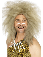 Crazy Caveman Wig,Blonde