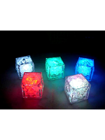 Flashing Multi-coloured Light Up Ice Cubes