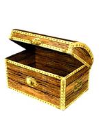 Treasure Chest Box Foldable