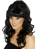 Beehive Beauty Wig,Black