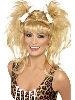 Crazy Cavegirl Bunches Wig
