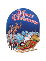 Merry Christmas Sign 61cm x 46cm